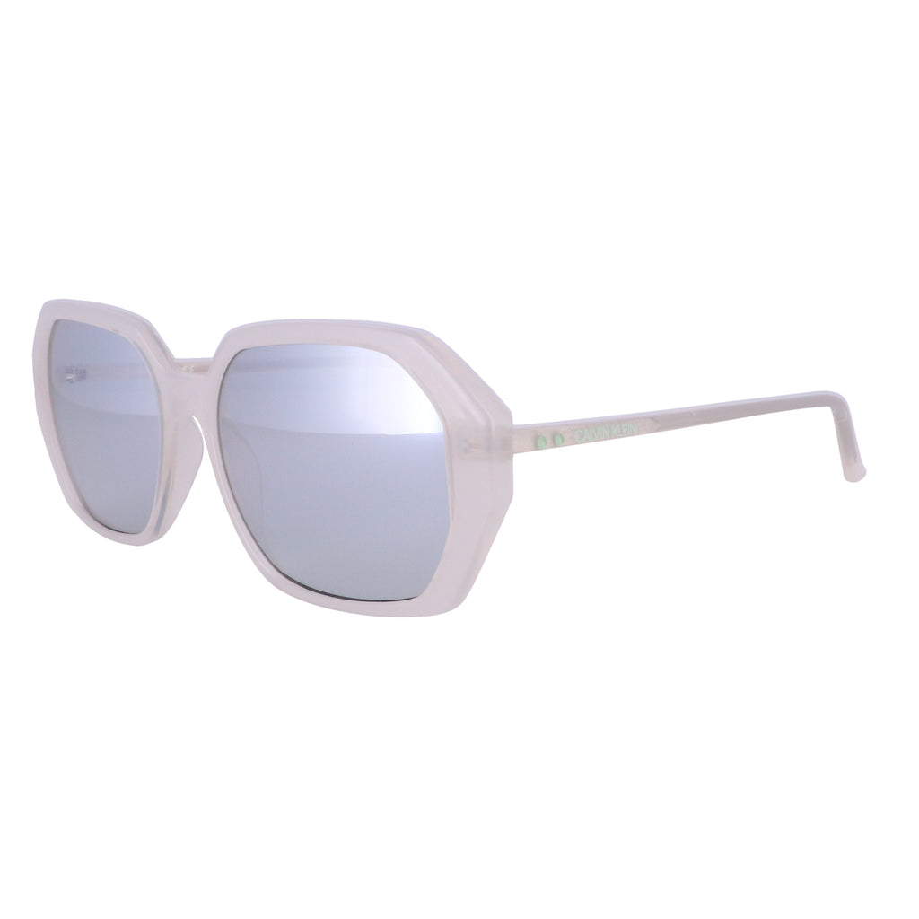 CALVIN KLEIN Sunglasses CK18535S 103 Milky Bone Rectangle Women 55x17x140