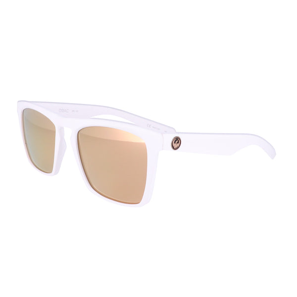DRAGON Sunglasses DRAC ION 102 Matte White Rectangle Men 53x20x145