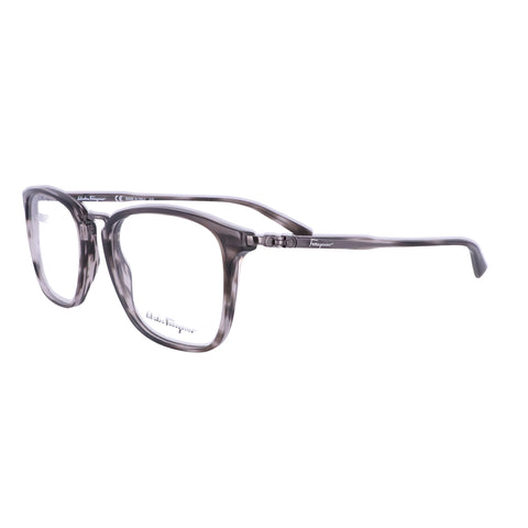 Salvatore Ferragamo Eyeglasses SF2822 003 Striped Grey Men 52x18x145