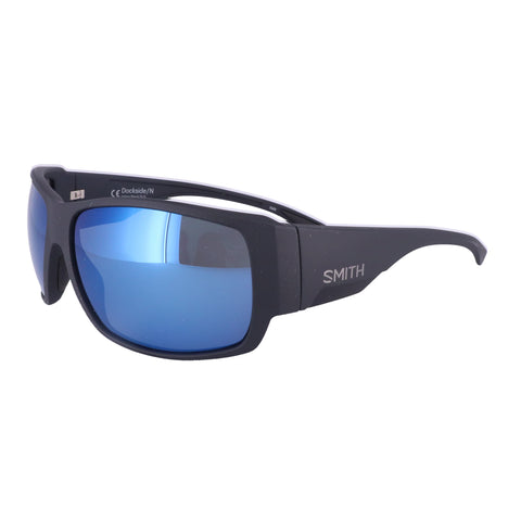 SMITH Sunglasses DOCKSIDE/N 0DL5 MATTE BLACK Men 63x16x130
