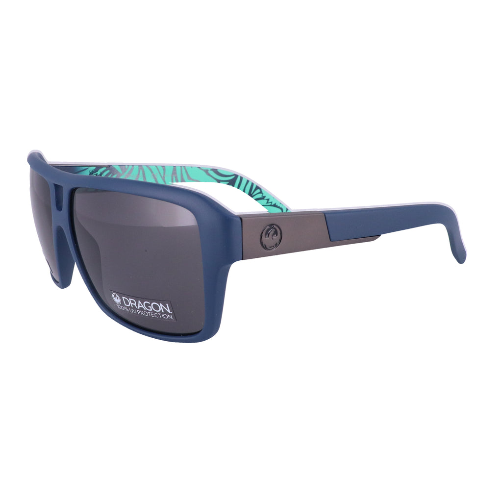 DRAGON Sunglasses THE JAM LL MI 419 Matte Navy Rectangle Men 60x13x135
