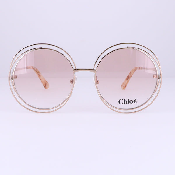 CHLOE Eyeglasses CE2152 780 Rose Gold Round Women 54x18x140