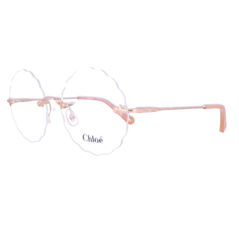 CHLOE Eyeglasses CE2147 705 Copper Round Women 55x16x140