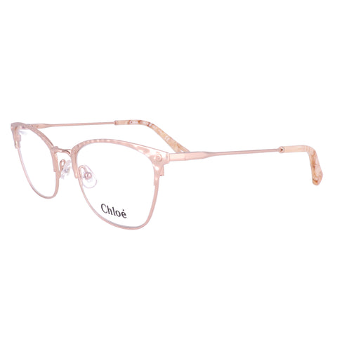 CHLOE Eyeglasses CE2153 780 Rose Gold Cat Eye Women 52x19x140