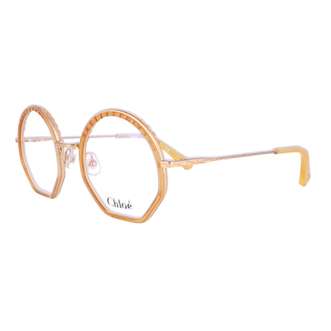 CHLOE Eyeglasses CE2143 771 Honey Round Women 50x22x140