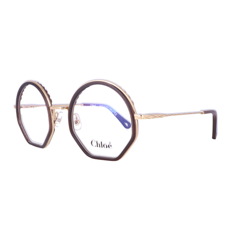 CHLOE Eyeglasses CE2143 210 Brown Round Women 50x22x140