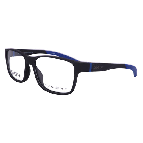 SMITH Eyeglasses OUTSIDER 0VK Matte Black Blue Men 55x16x140