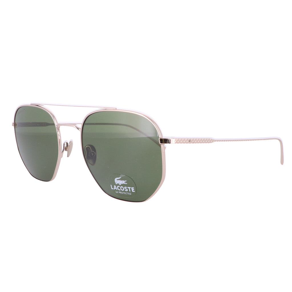 LACOSTE Sunglasses L210S 714 Shiny Gold Square Unisex Adults 54x20x150