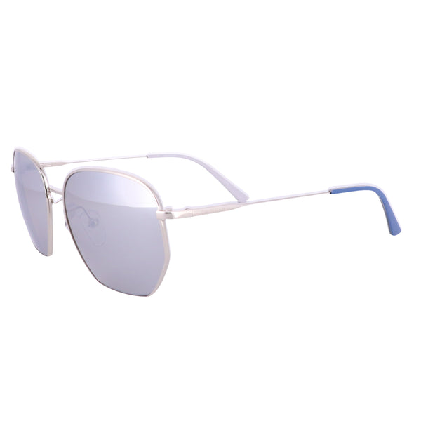 CALVIN KLEIN Sunglasses CK19102S 046 Nickel Square Unisex Adults 53x15x140
