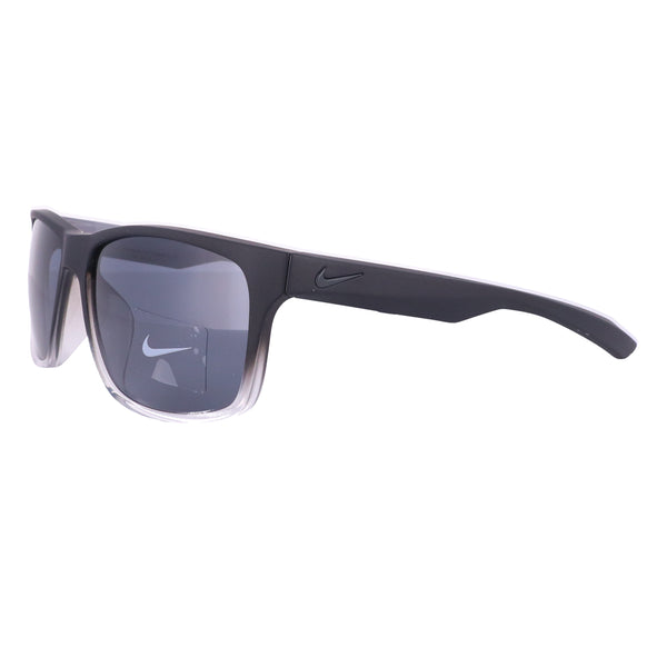 NIKE Sunglasses ESSENTIAL CHASE EV0999 090 Matte Black Square Men 59x16x140