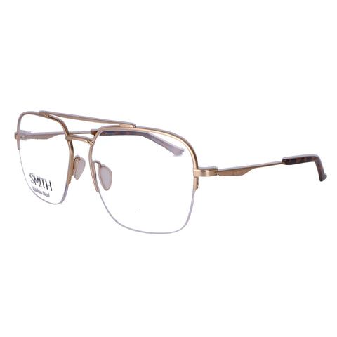 SMITH Eyeglasses SIDESTEP AOZ Semi Matte Gold Unisex 57x15x140