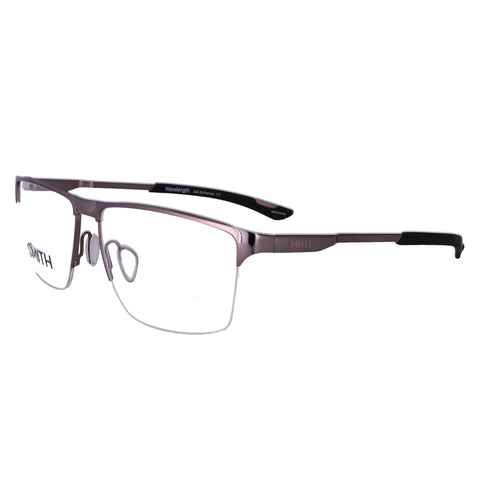 SMITH Eyeglasses WAVELENGTH KJ1 Dark Ruthenium Men 58x15x145