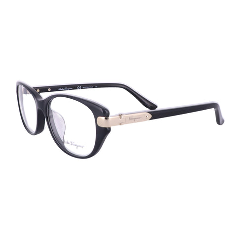 Salvatore Ferragamo Eyeglasses SF2741A 001 Black Rectangle Women 53x15x135