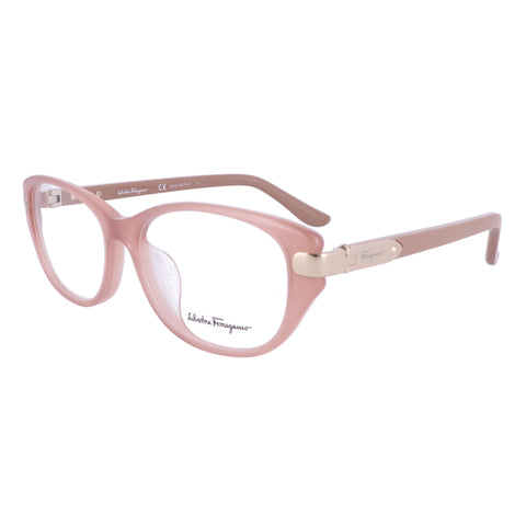Salvatore Ferragamo Eyeglasses SF2741A 665 Opal Rose Rectangle Women 53x15x135