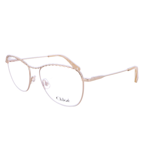 CHLOE Eyeglasses 2139 717 Gold Tea Cup Women 55x16x140
