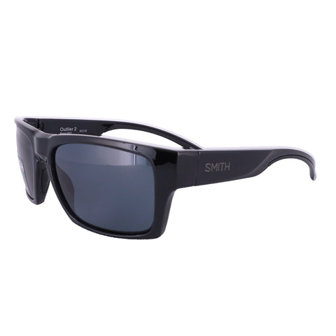 SMITH Sunglasses OUTLIER 2 0807 BLACK Men 57x16x135