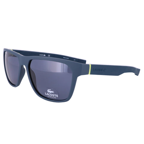 LACOSTE Sunglasses L869S 414 Blue Navy Modified Rectangle Men 57x15x145