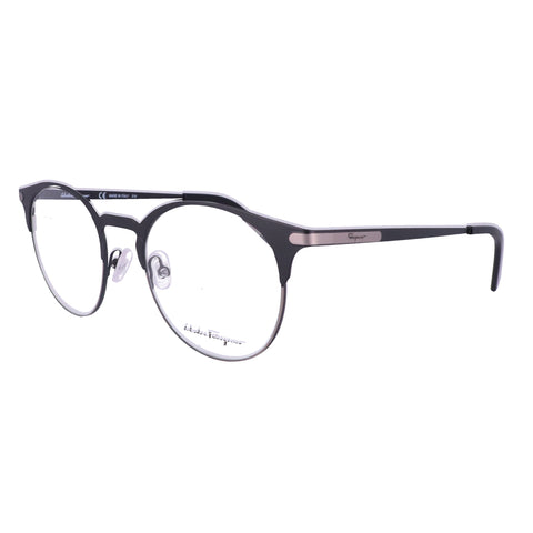 Salvatore Ferragamo Eyeglasses SF2190 021 Black-Ruthenium P-3 Men 50x20x145
