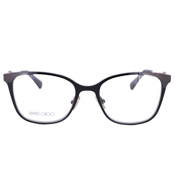 JIMMY CHOO Eyeglasses JC212 807 Black Women 51x17x140