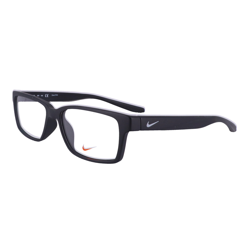 NIKE Eyeglasses 7103 001 Matte Black Rectangle Men 52x15x140