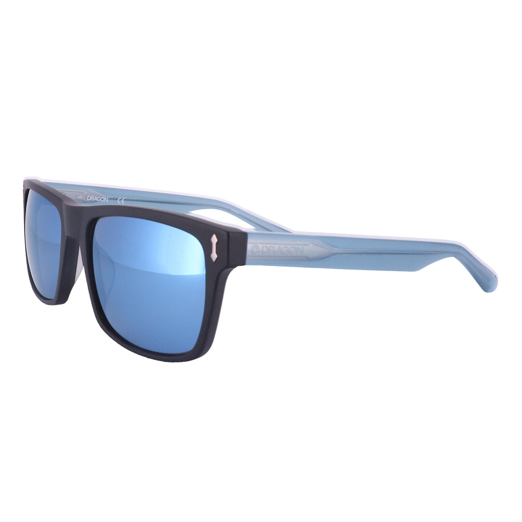 DRAGON Sunglasses 515S BLINDSIDE 002 Matte Black Rectangle Men 57x18x145