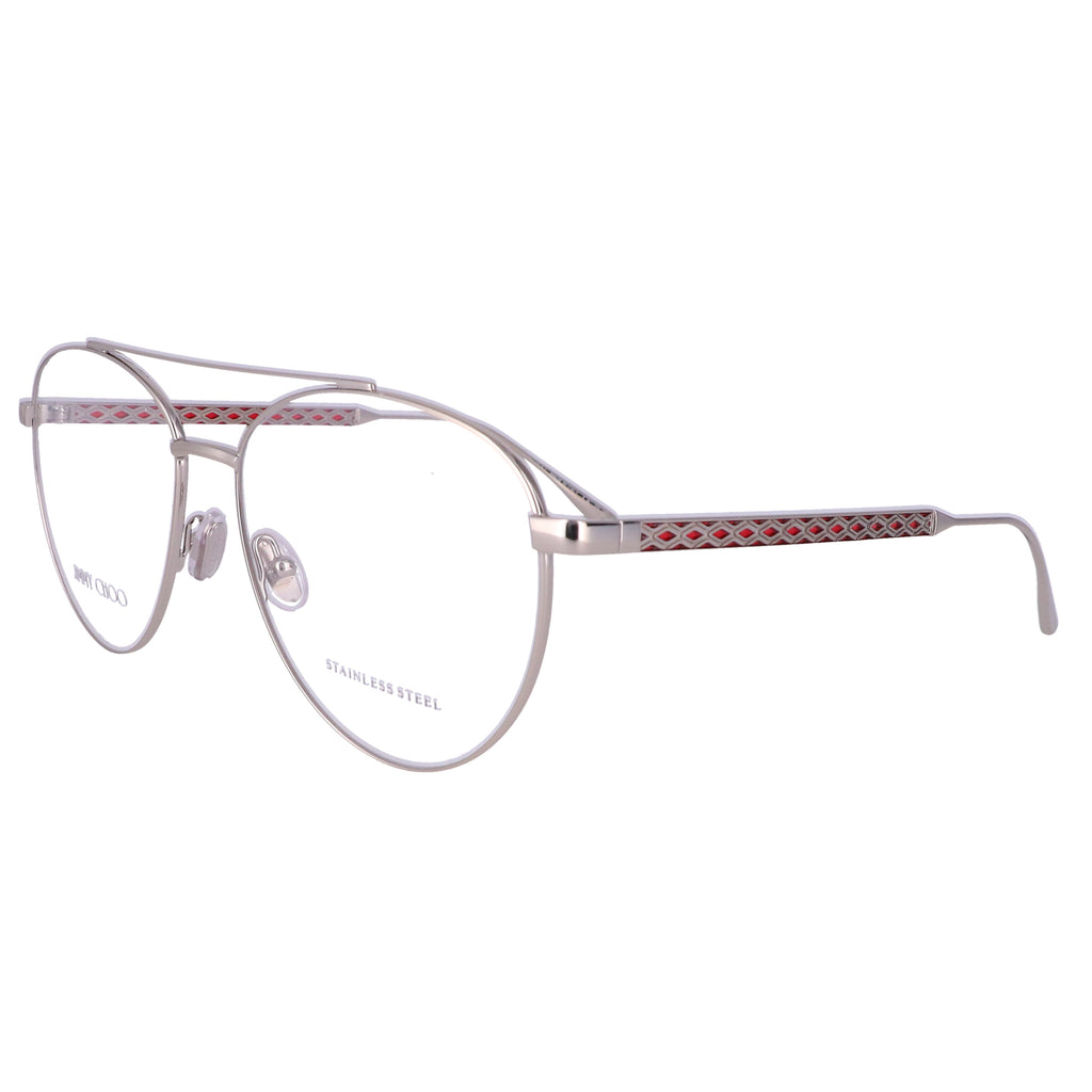 JIMMY CHOO Eyeglasses JC216 Y11 Gold Red Women 56x15x140