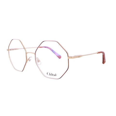 CHLOE Eyeglasses CE2134 757 Gold-Havana Rectangle Women 55x19x140