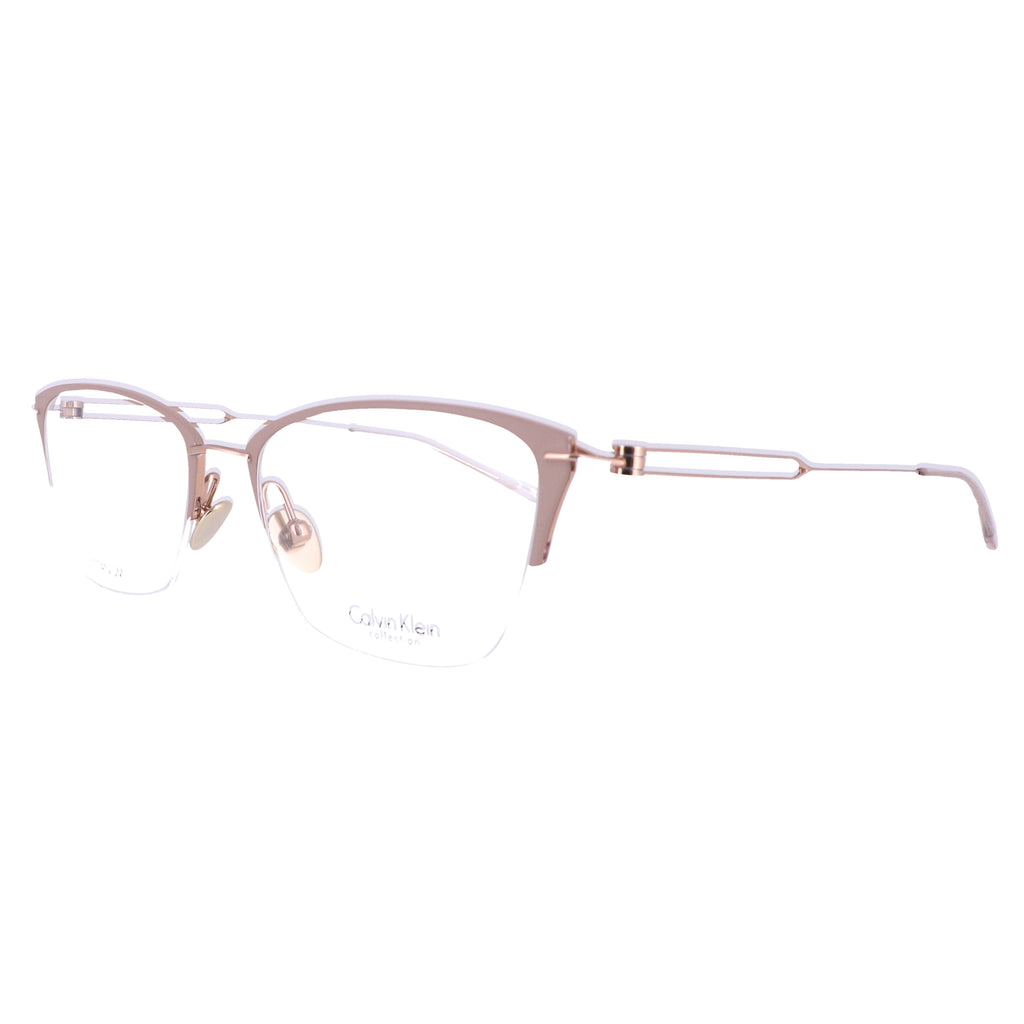 Calvin Klein Collection Eyeglasses CK8065 272 Matte Taupe-Rose Gold 52x18x135