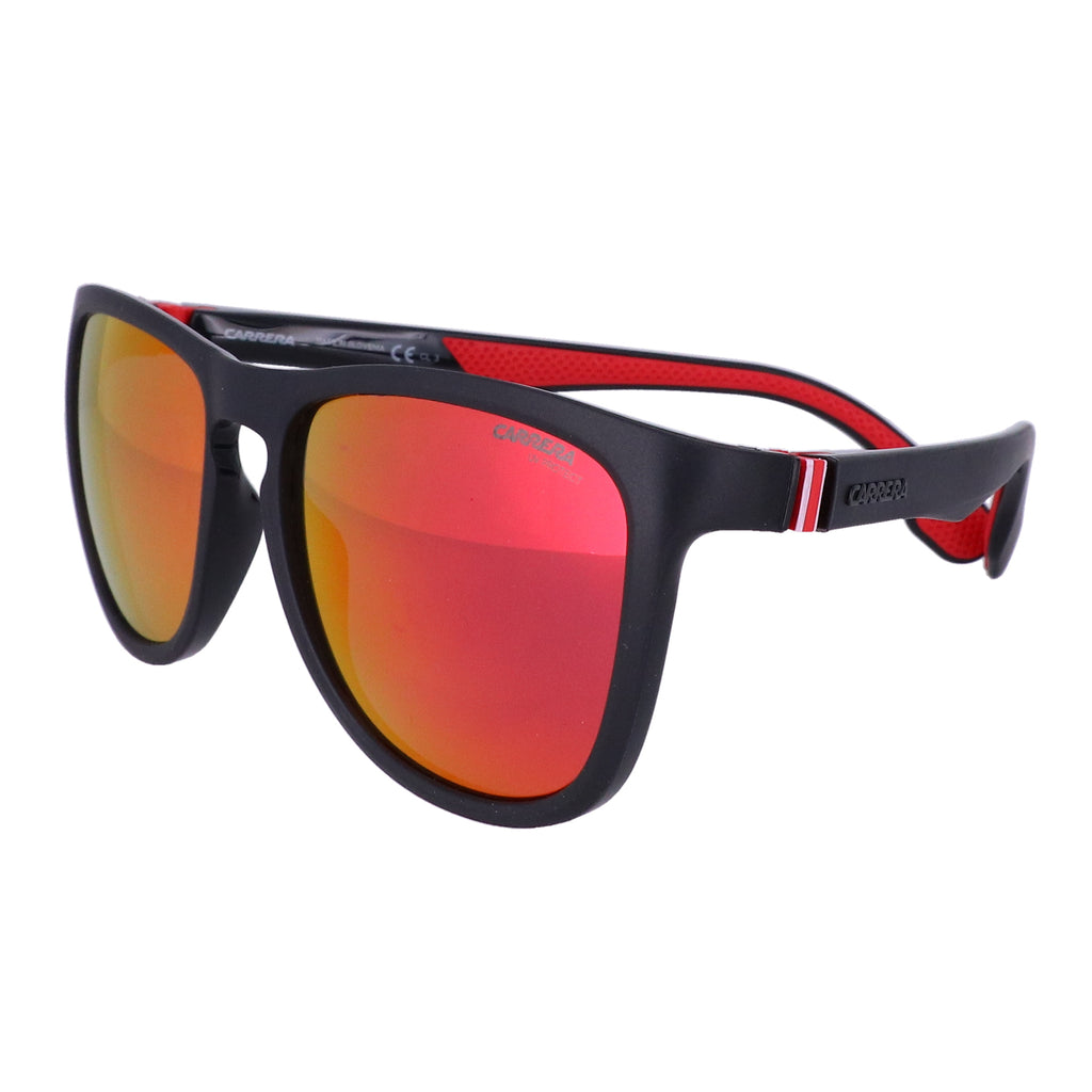 CARRERA Sunglasses 5050S BLX Black Rt Crystal Red Men 56x18x135