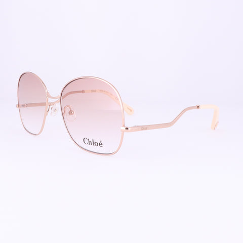 CHLOE Eyeglasses CE2157 780 Rose Gold Rectangle Women 56x16x140