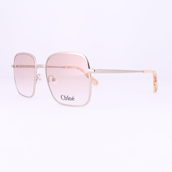 CHLOE Eyeglasses CE2160 906 Medium Gold Rectangle Women 53x17x140