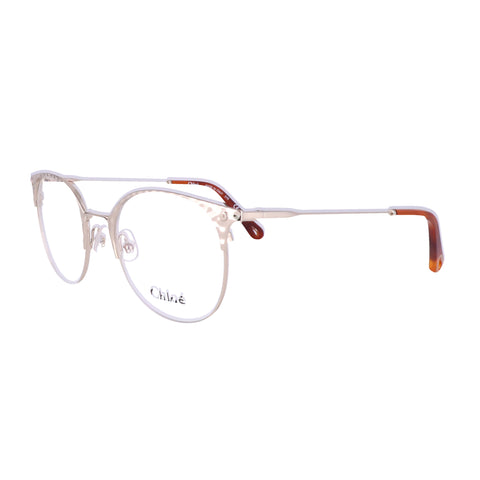 CHLOE Eyeglasses CE2141 906 Medium Gold Round Women 51x19x140