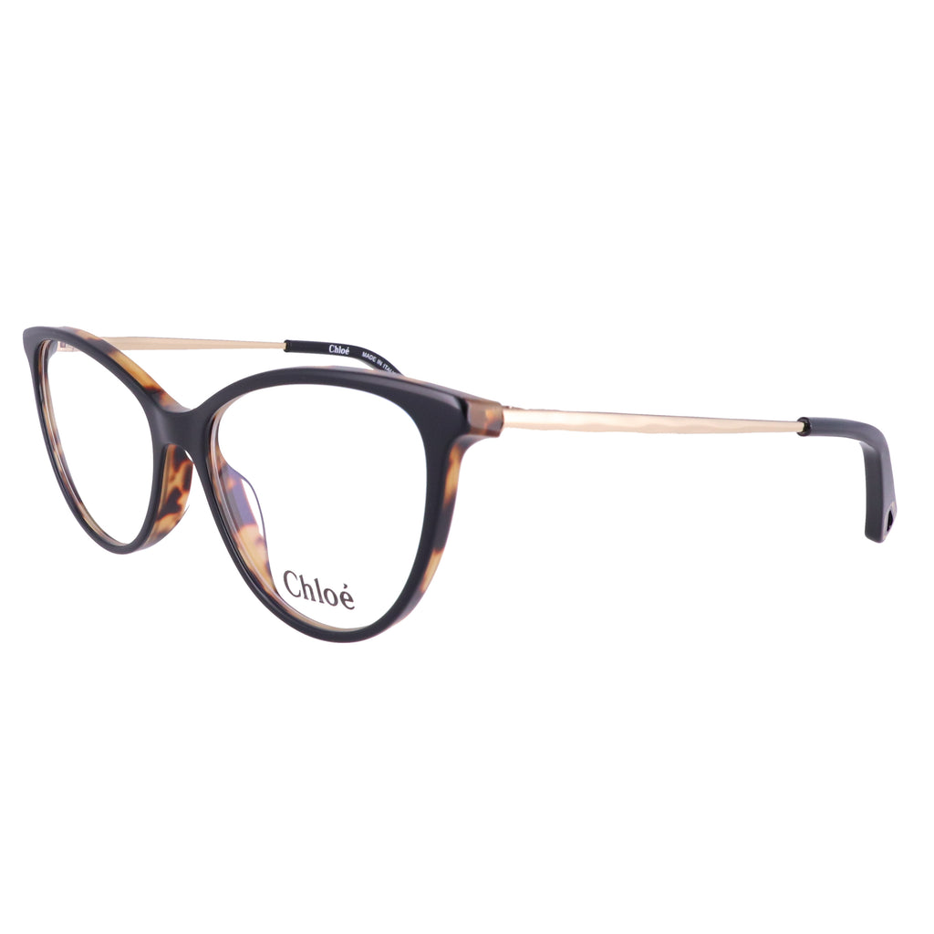 CHLOE Eyeglasses CE2748 004 Black-Havana Cat Eye Women 53x16x140