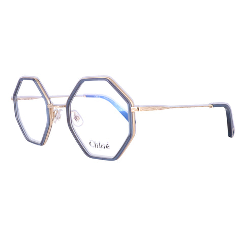 CHLOE Eyeglasses CE2142 424 Blue Square Women 50x22x140