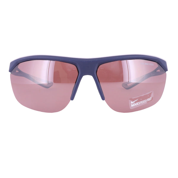 Nike Sunglasses TAILWIND E EV0946 466 Matte Navy Rectangle Unisex 70x11x140