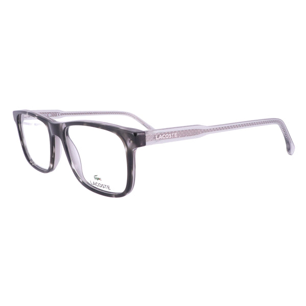 LACOSTE Eyeglasses L2852 215 Grey Havana Rectangle Men 53x16x145