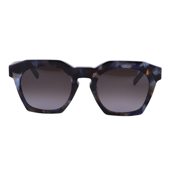 MCM Sunglasses MCM656SA 235 Havana Blue Rectangle Unisex Adults 51x21x145