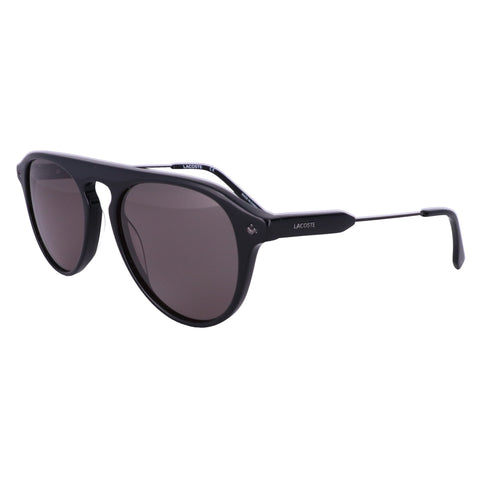LACOSTE Sunglasses L603SND 001 Black Oval Men 53x18x145