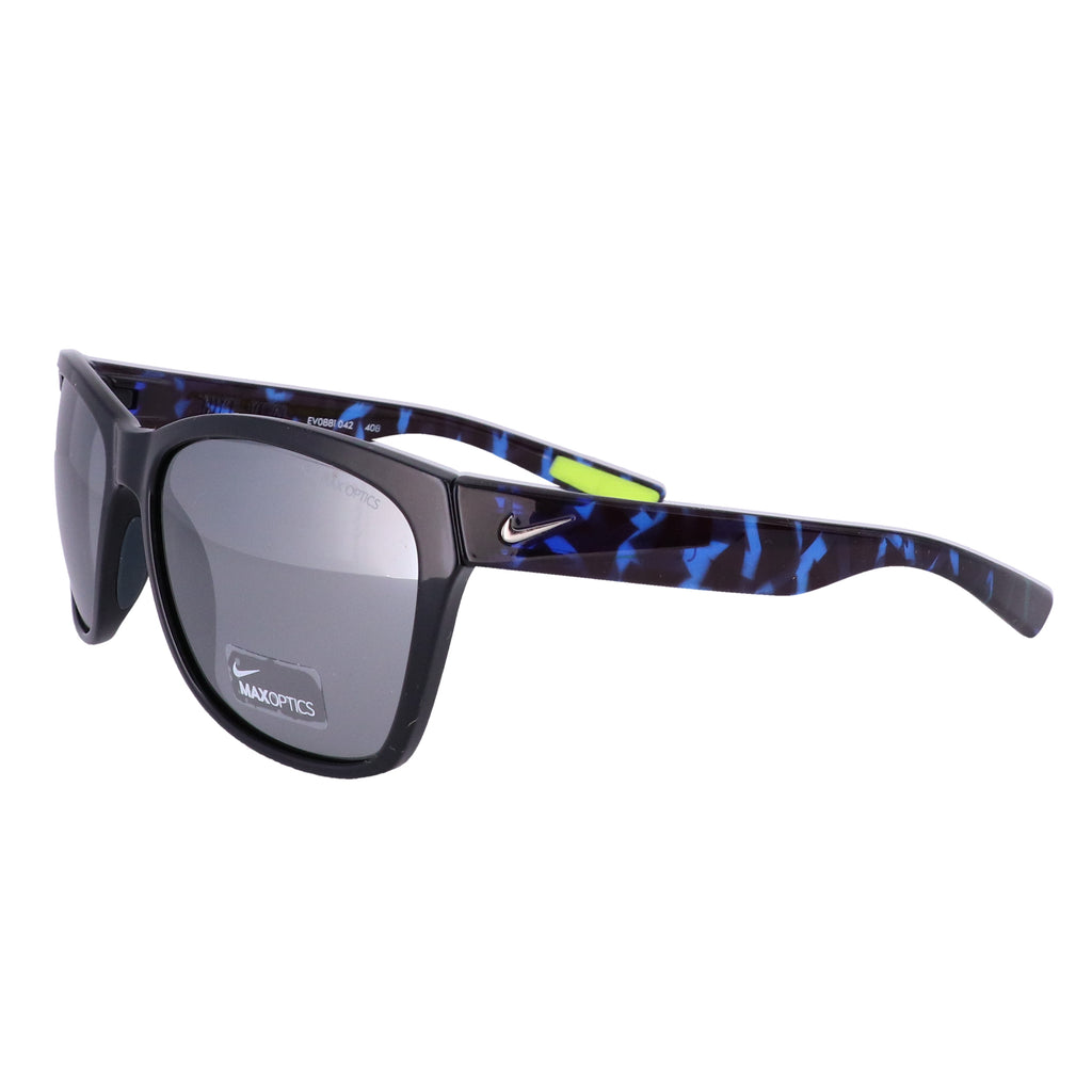 NIKE Sunglasses VITAL EV0881 042 Black-Blue Cat Eye Women 58x17x135