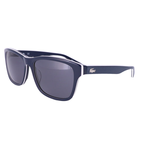 LACOSTE Polarized Sunglasses L683SP 414 Blue-White-Blue Unisex 55x16x140