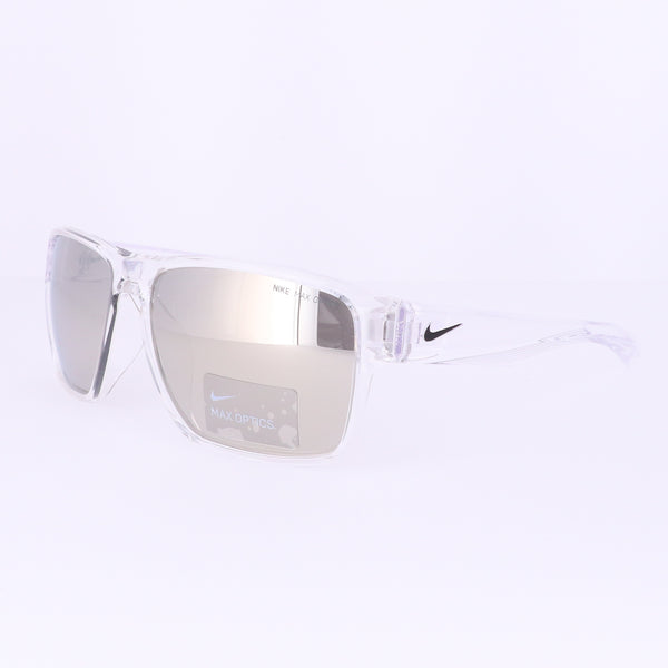 NIKE Sunglasses ESSENTIAL VENTU EV1001 900 Clear Square Unisex 59x15x145