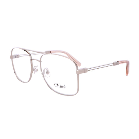 CHLOE Eyeglasses CE2133 724 Gold-Peach Rectangle Women 55x18x140