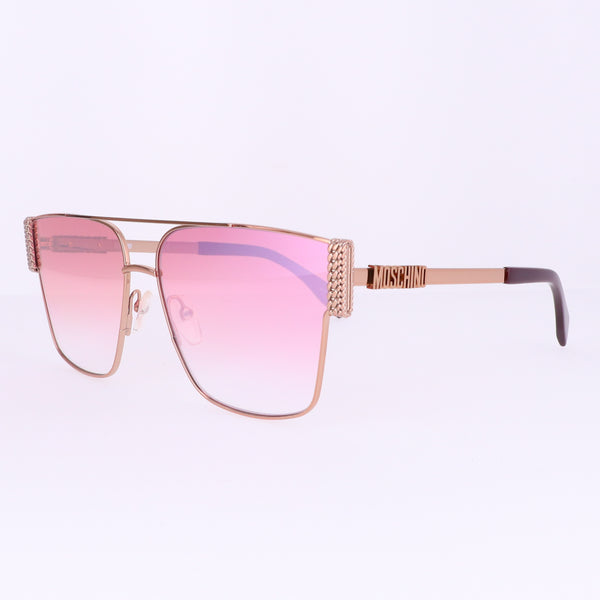 Moschino Sunglasses MOS024S DDB Gold Copp Women 60x14x145