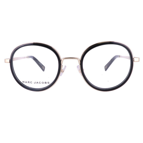 MARC JACOBS Eyeglasses 396 2M2 Black Gold Unisex Adults 50x23x145