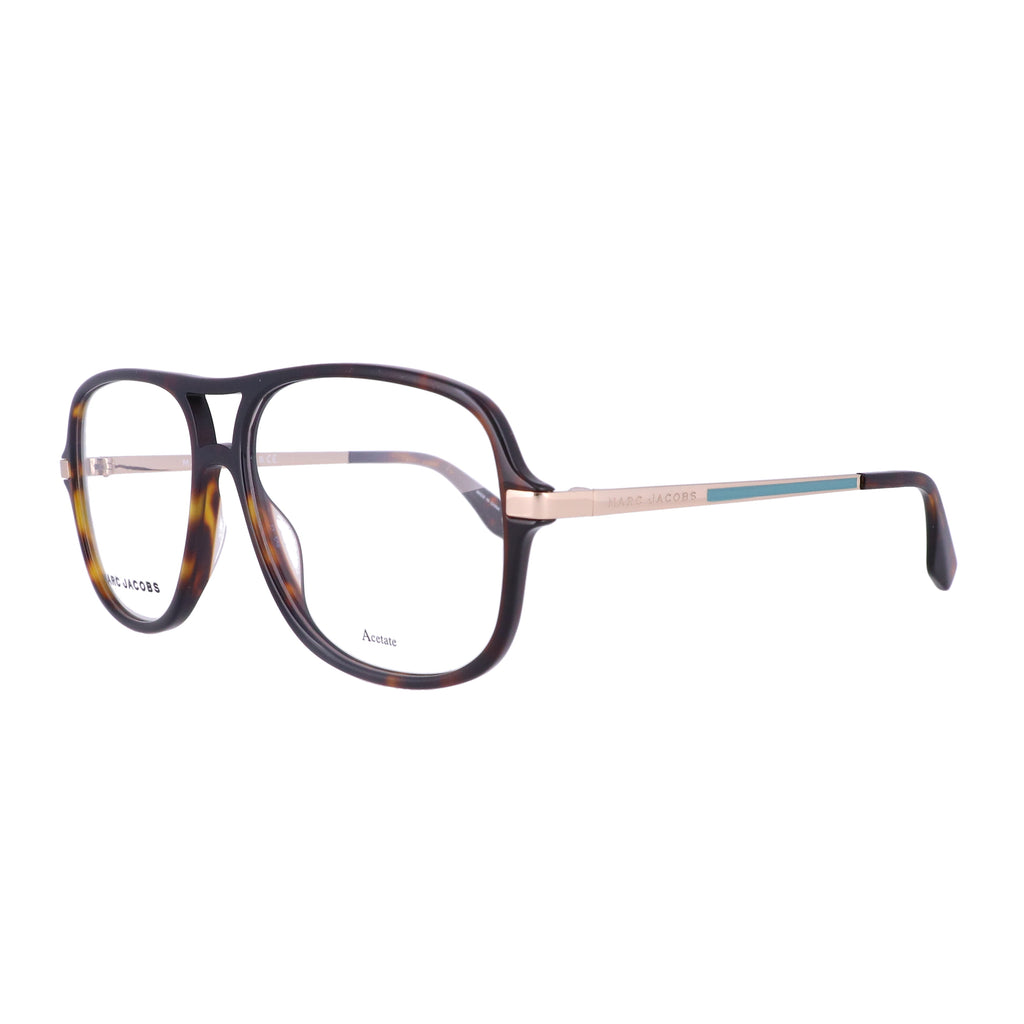 MARC JACOBS Eyeglasses 390 086 Dark Havana Men 57x15x145