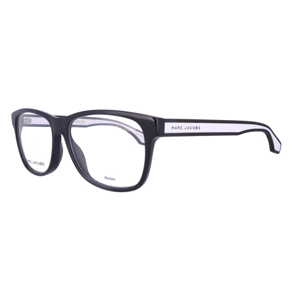 MARC JACOBS Eyeglasses 291 80S Black Whte Unisex Adults 54x15x145