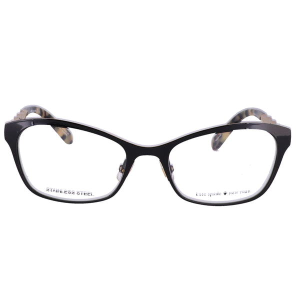 KATE SPADE Eyeglasses MELONIE 006 Shiny Black Women 50x17x135
