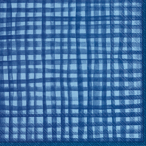 Gentle Square Blue Napkin