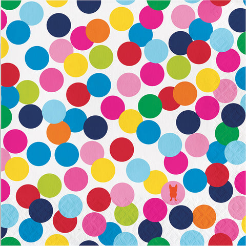 Confetti Dots Large Napkins