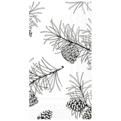 Pine Branches Guest Towels